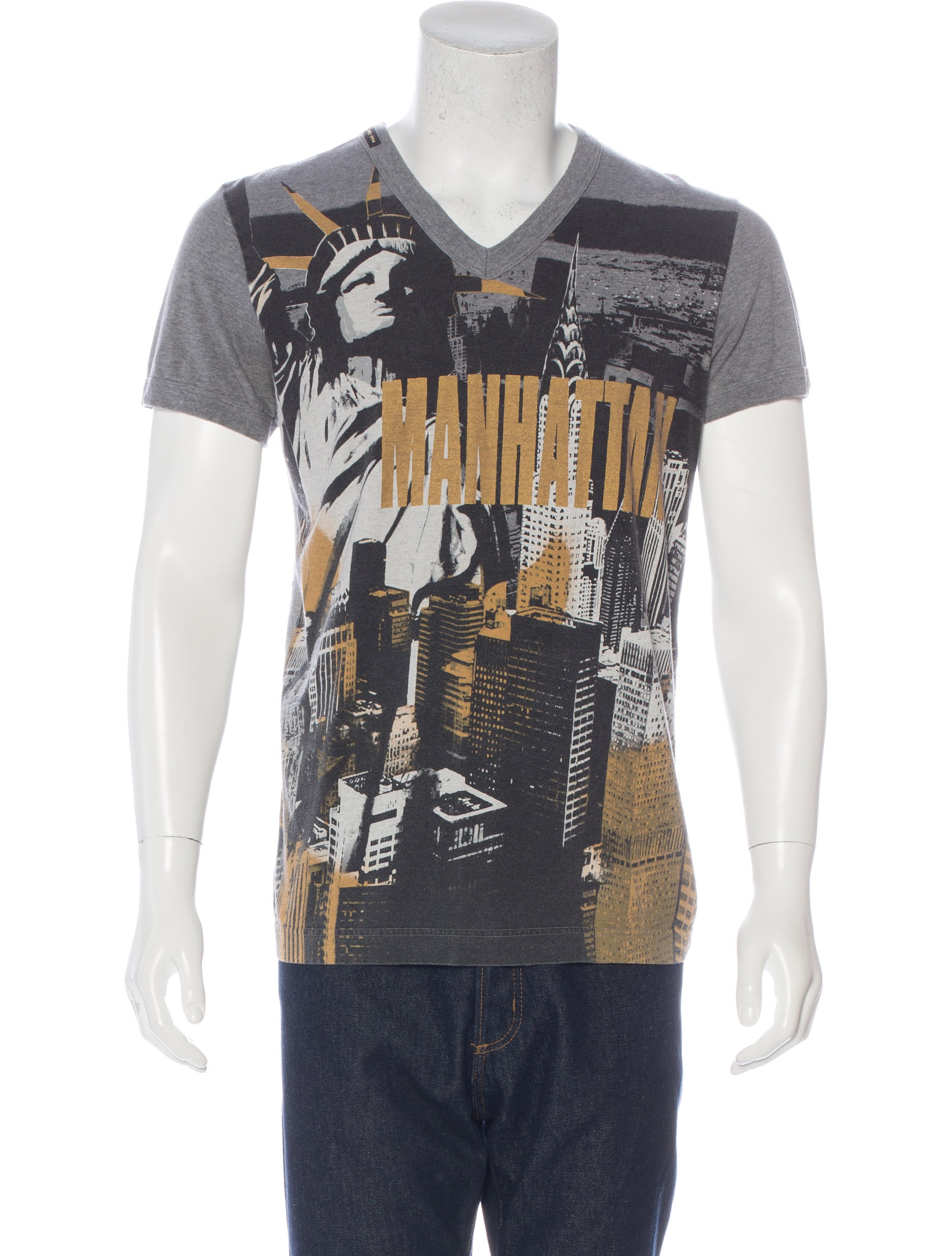 Dg Manhattan Graphic Print T Shirt Clothing Wdg35841 The Realreal