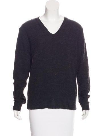 D&G Wool-Blend Bouclé Sweater None