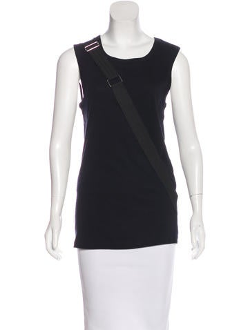 D&G Embellished Sleeveless Top None