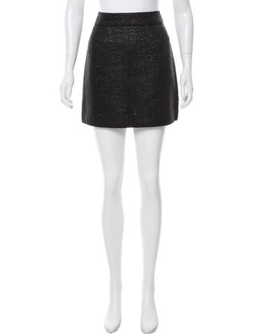 D&G Brocade Mini Skirt None