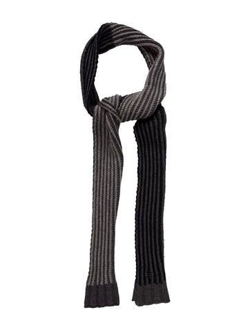 D&G Rib Knit Wool Scarf None