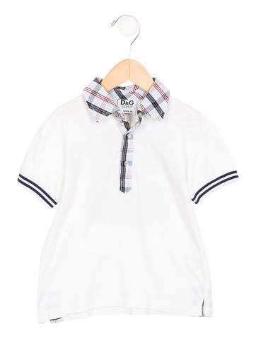 D&G Boys' Cowboy Pointed Collar Shirt None