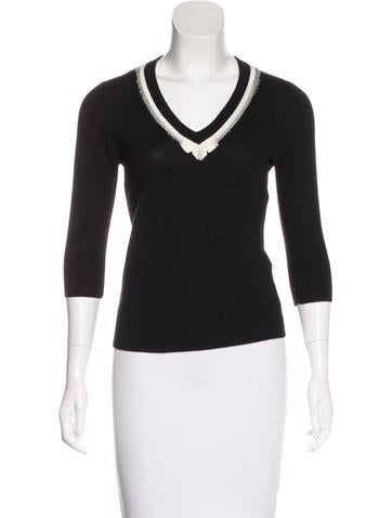 D&G Cashmere Knit Sweater None