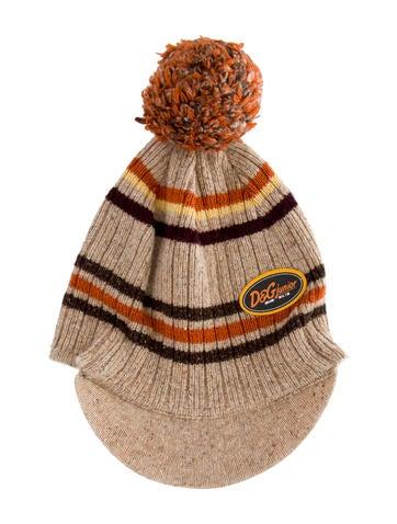 D&G Boys' Knit Pom-Pom Beanie None
