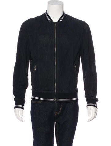 D&G Suede Bomber Jacket None