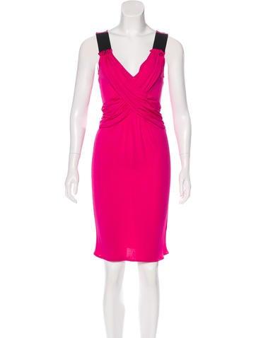 D&G Draped Midi Dress w/ Tags None