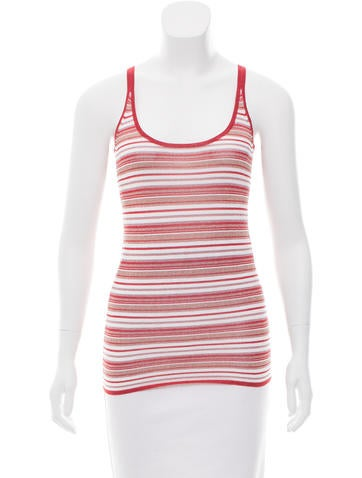 D&G Striped Knit Top None