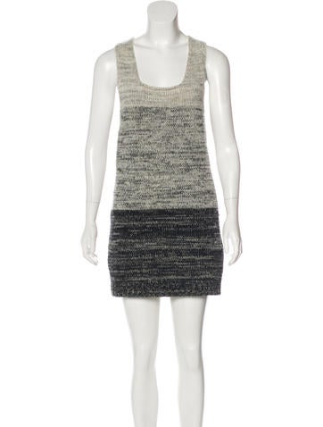 D&G Wool Colorblock Dress None