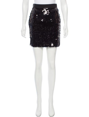 D&G Sequined Mini Skirt None