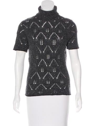 D&G Wool Turtleneck Sweater None