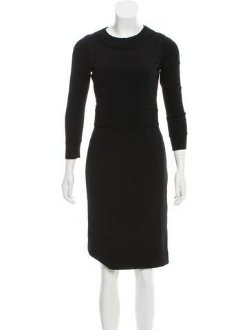 D&G Long Sleeve Knee-Length Dress None