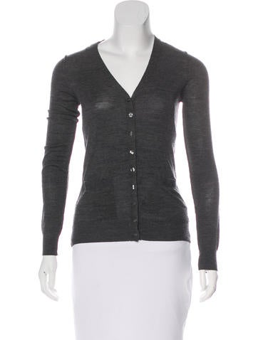D&G Long Sleeve Button-Up Cardigan None