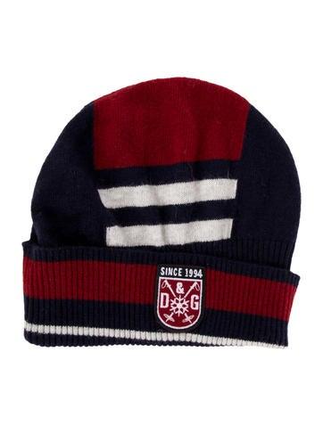 D&G Boys' Wool-Blend Logo Beanie w/ Tags None
