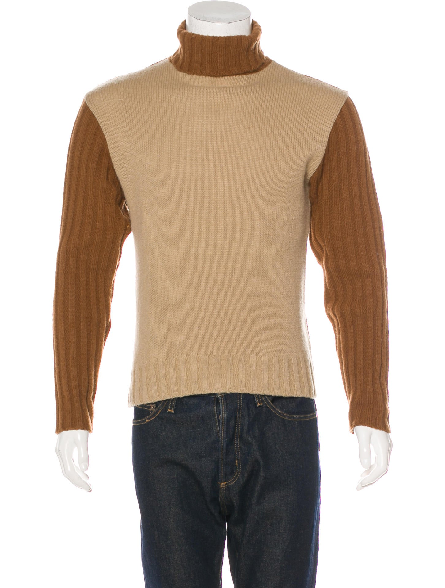 D&G Wool-Blend Turtleneck Sweater How Much Cheap Price 6QT93Sl