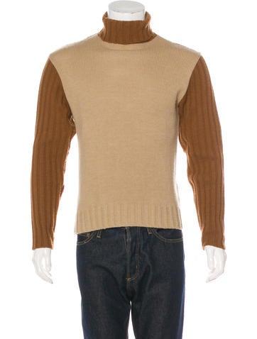 D&G Wool-Blend Turtleneck Sweater None