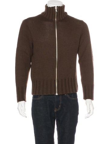 D&G Wool Zip Sweater None
