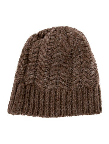 D&G Boys' Marbled Cable Knit Beanie None