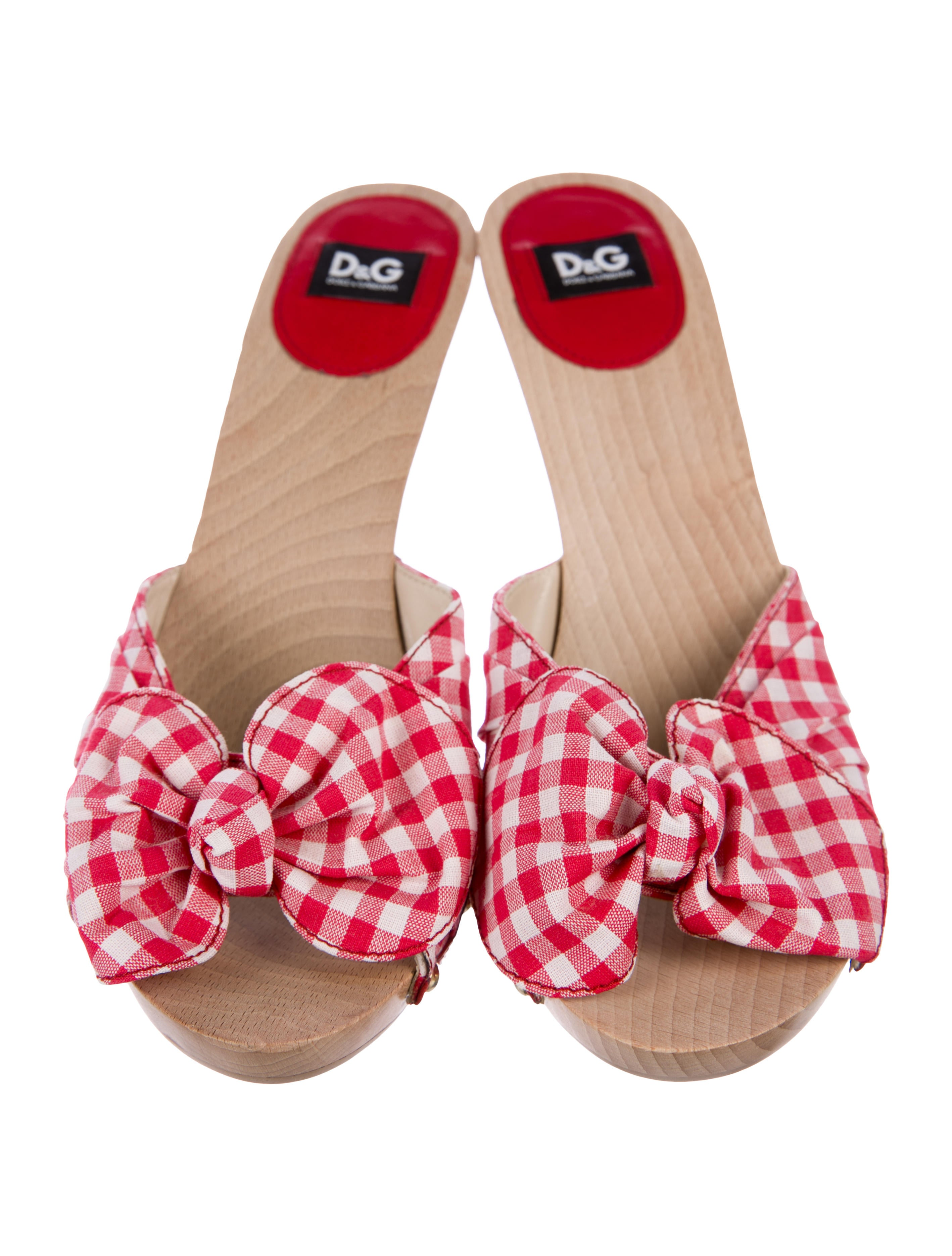 D&G Checkered Slide Sandals clearance websites buy cheap footaction for sale cheap online cheap price for sale kxzuh