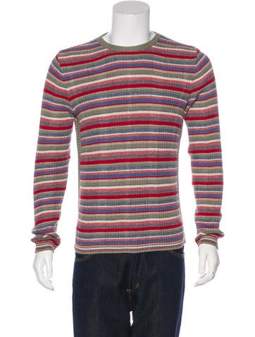 D&G Striped Knit Sweater None