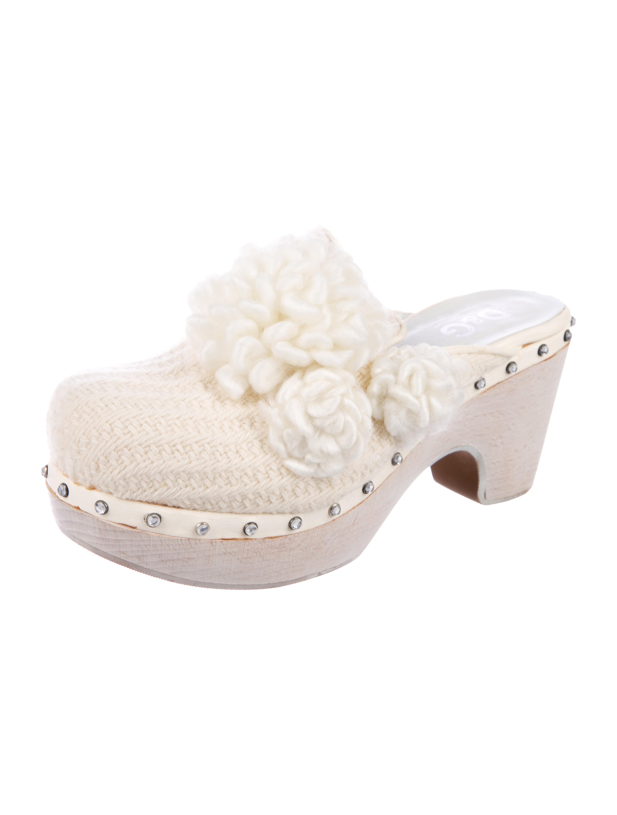 D&G Knit Round-Toe Clogs buy online new buy cheap low price buy cheap amazing price online cheap quality A11xrihn