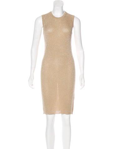 D&G Silk Knit Knee-Length Dress None