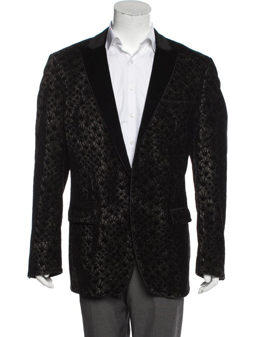 D&G Velvet Smoking Jacket black