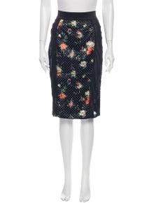 D&G Floral Print Mini Dress