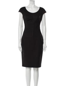D&G Scoop Neck Knee-Length Dress