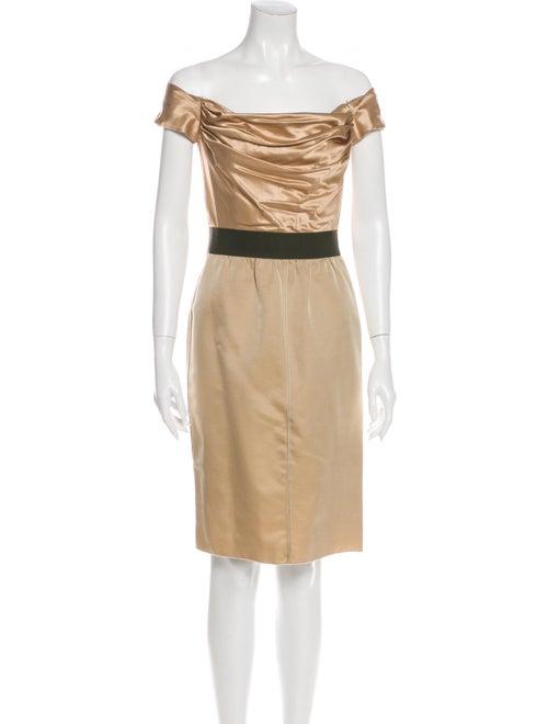 D&G Wool Mini Dress Wool