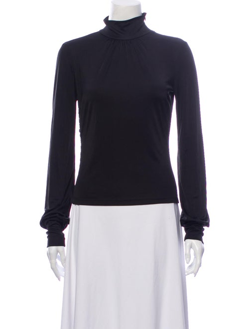 D&G Turtleneck Long Sleeve Sweatshirt Black