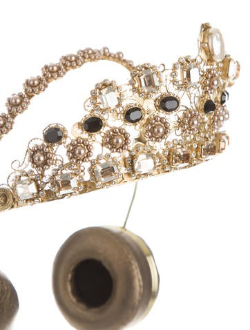 2015 Embellished Crown Headphones