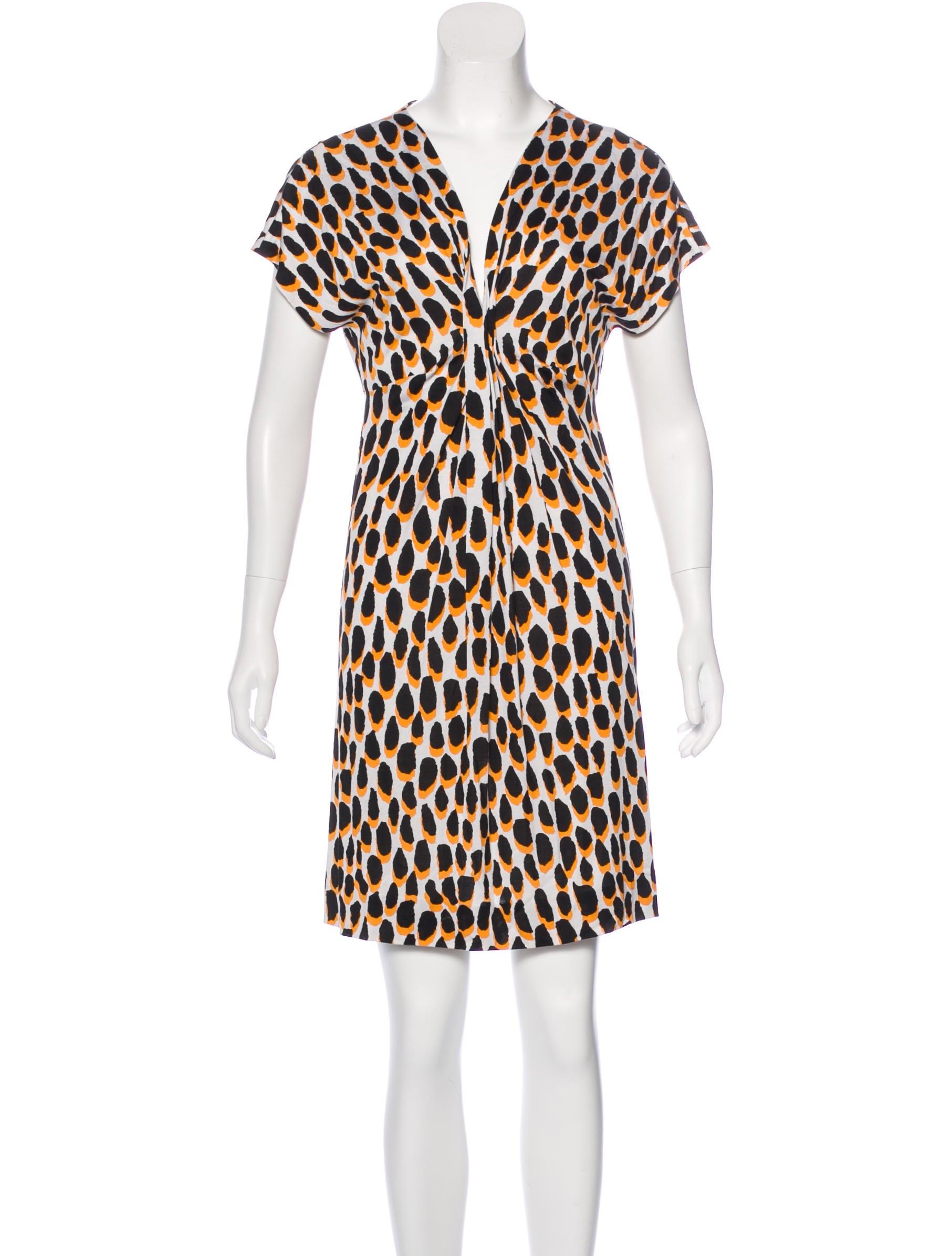 Diane von furstenberg natalie silk dress clothing for Diane von furstenberg shirt