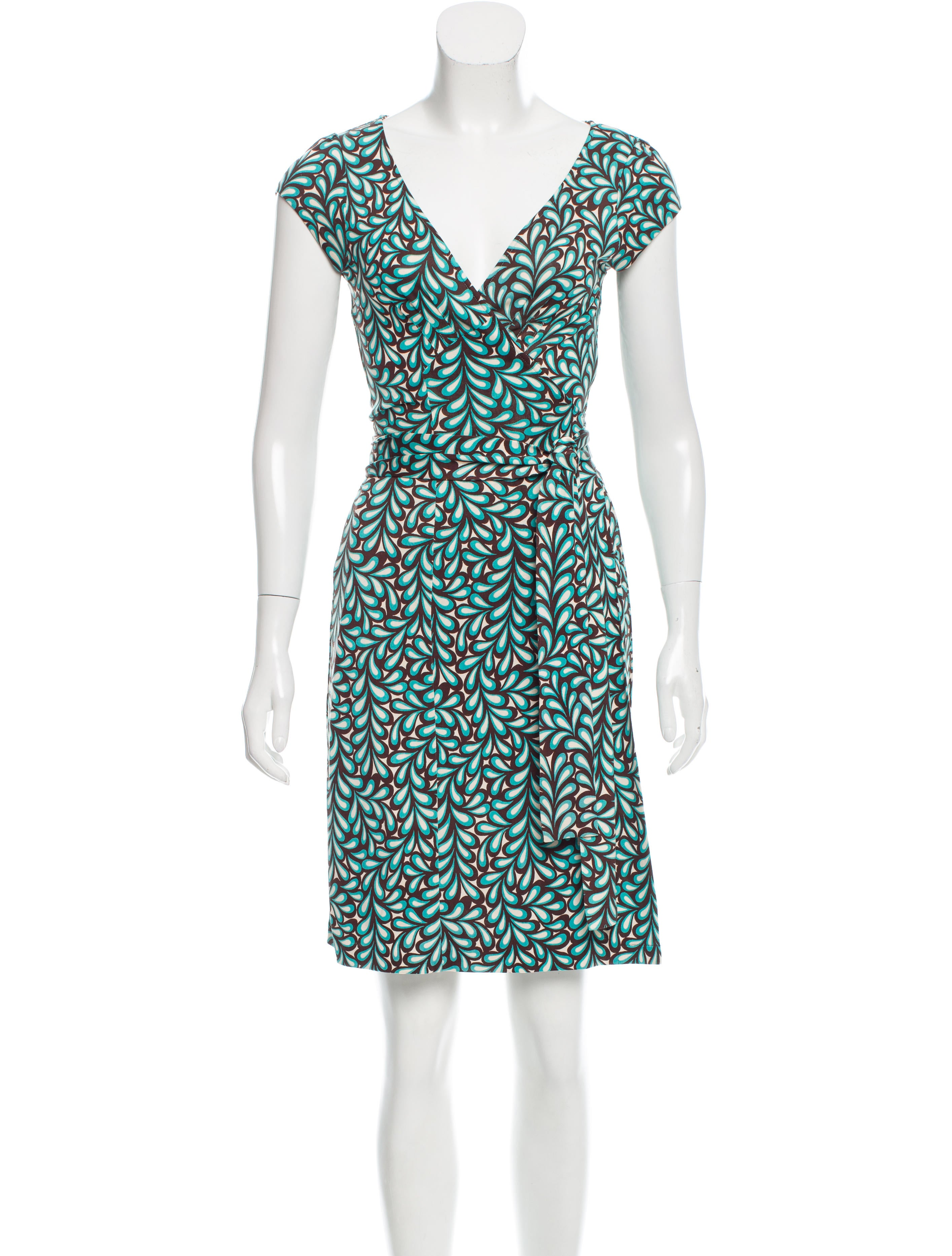 Diane von furstenberg kye silk dress clothing for Diane von furstenberg clothes