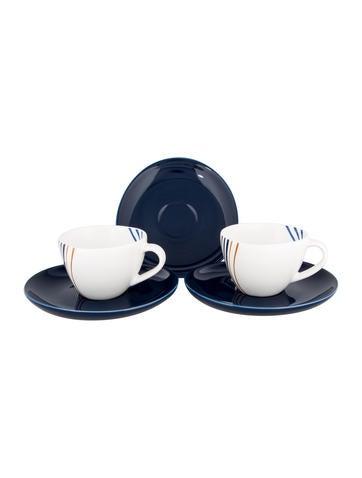 Diane von Furstenberg 5-Piece Streamline Partial-Espresso Service None