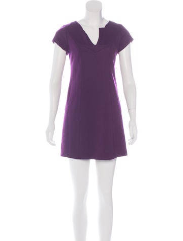 Diane von Furstenberg Wool Shift Dress None