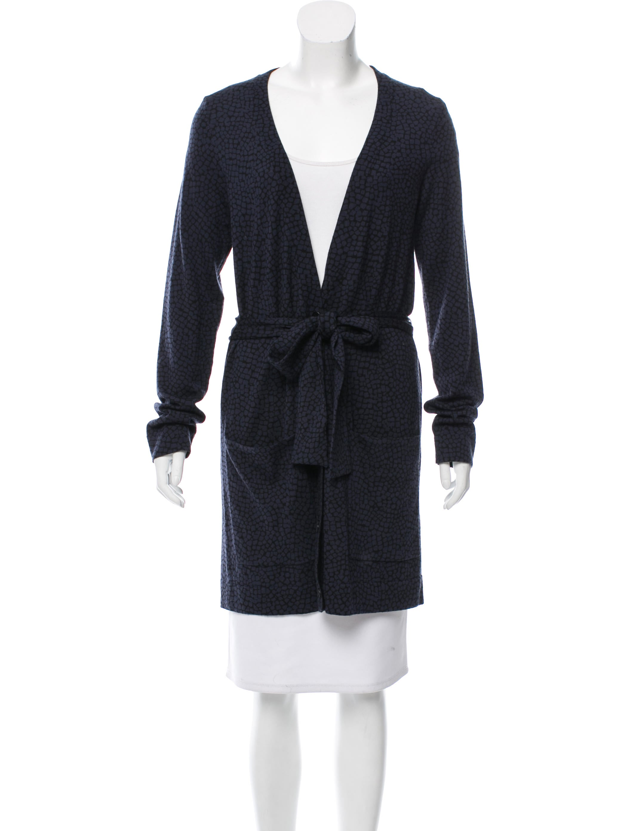 Diane von Furstenberg Delwyn Button Up Cardigan - Clothing ...