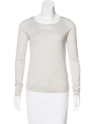 Diane von Furstenberg Silk & Cashmere-Blend Top None