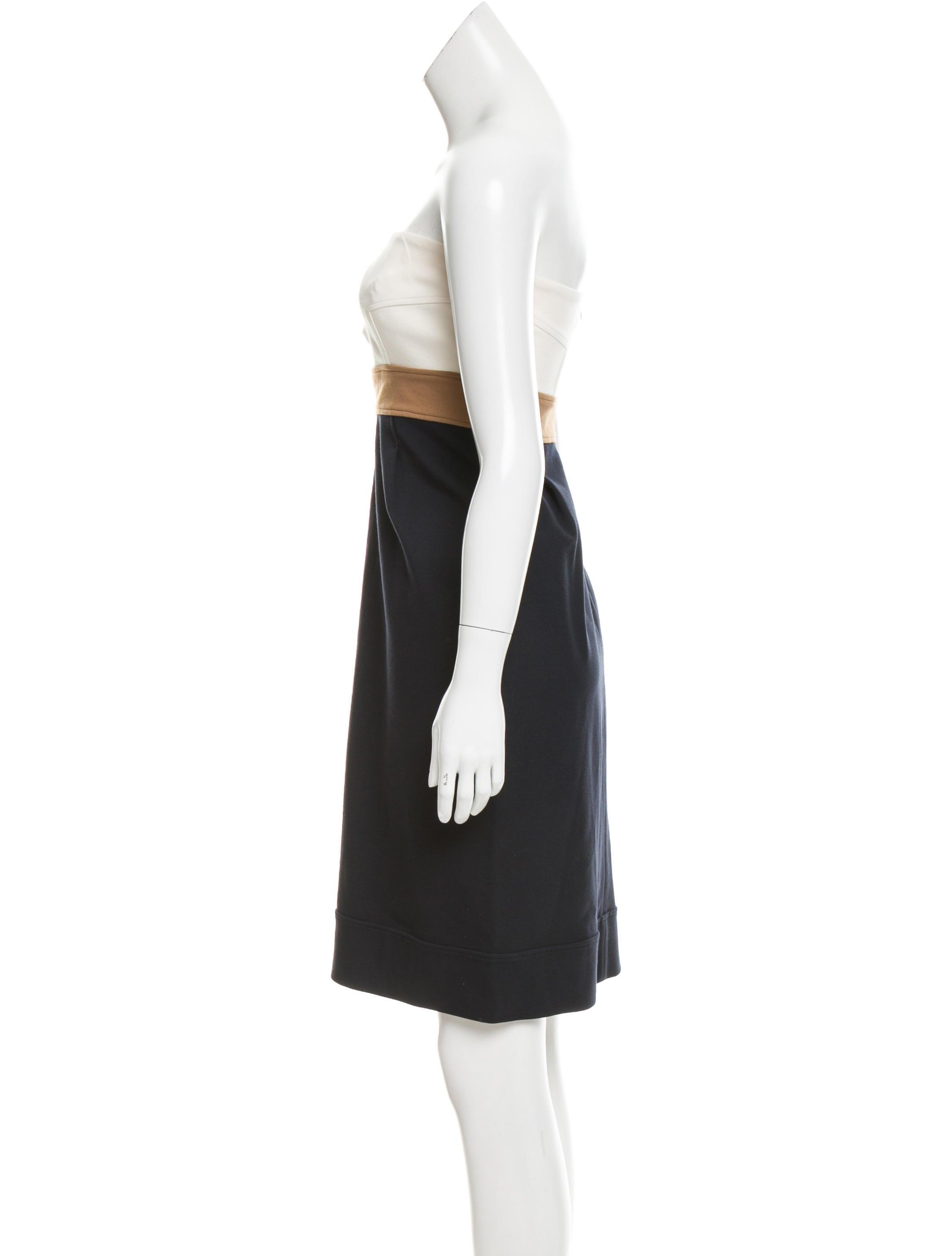 Diane Von Furstenberg Rhythm Colorblock Dress Clothing