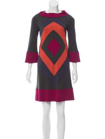 Diane von Furstenberg Ungaro Wool Dress w/ Tags None