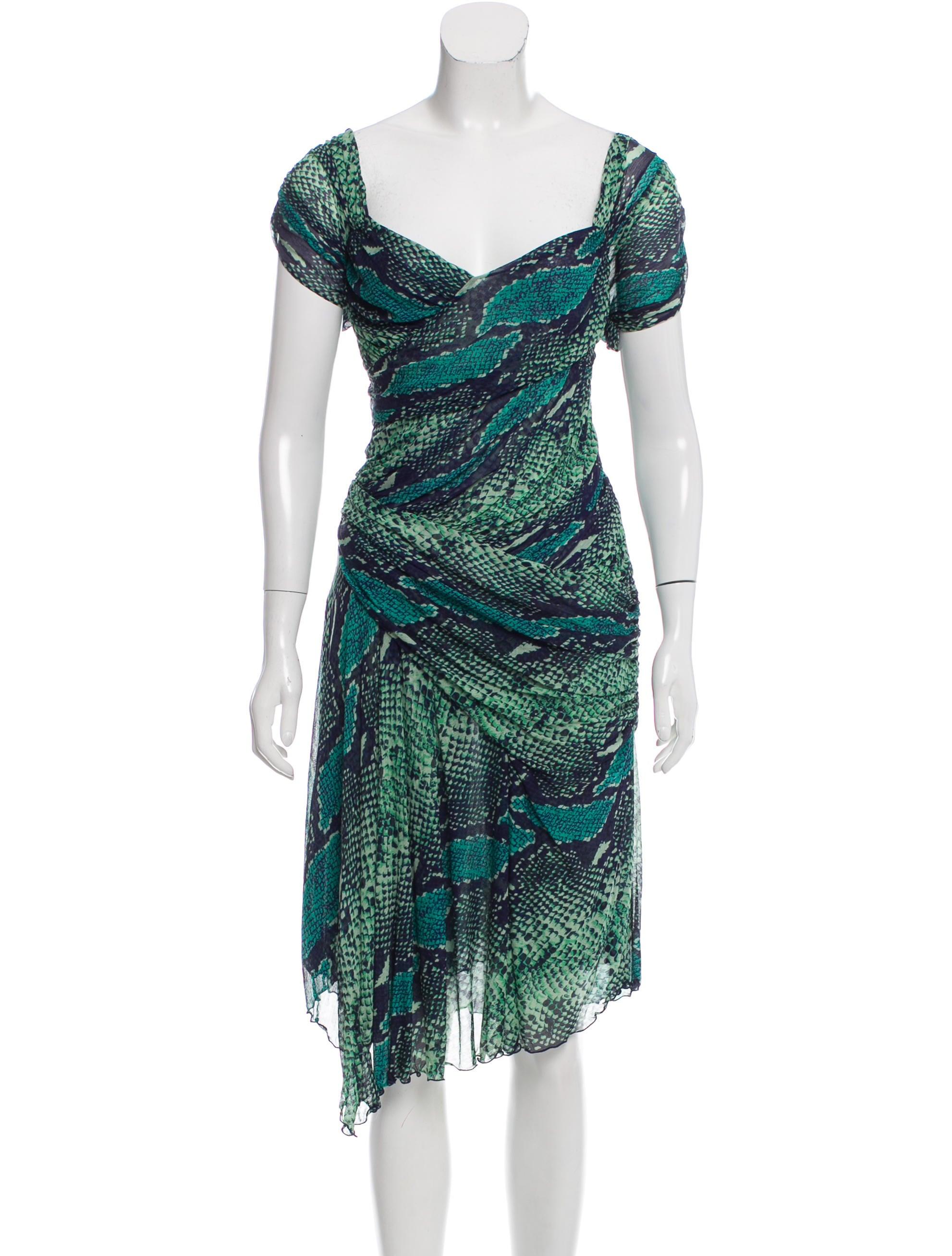 Diane von furstenberg gertrude silk dress clothing for Diane von furstenberg clothing