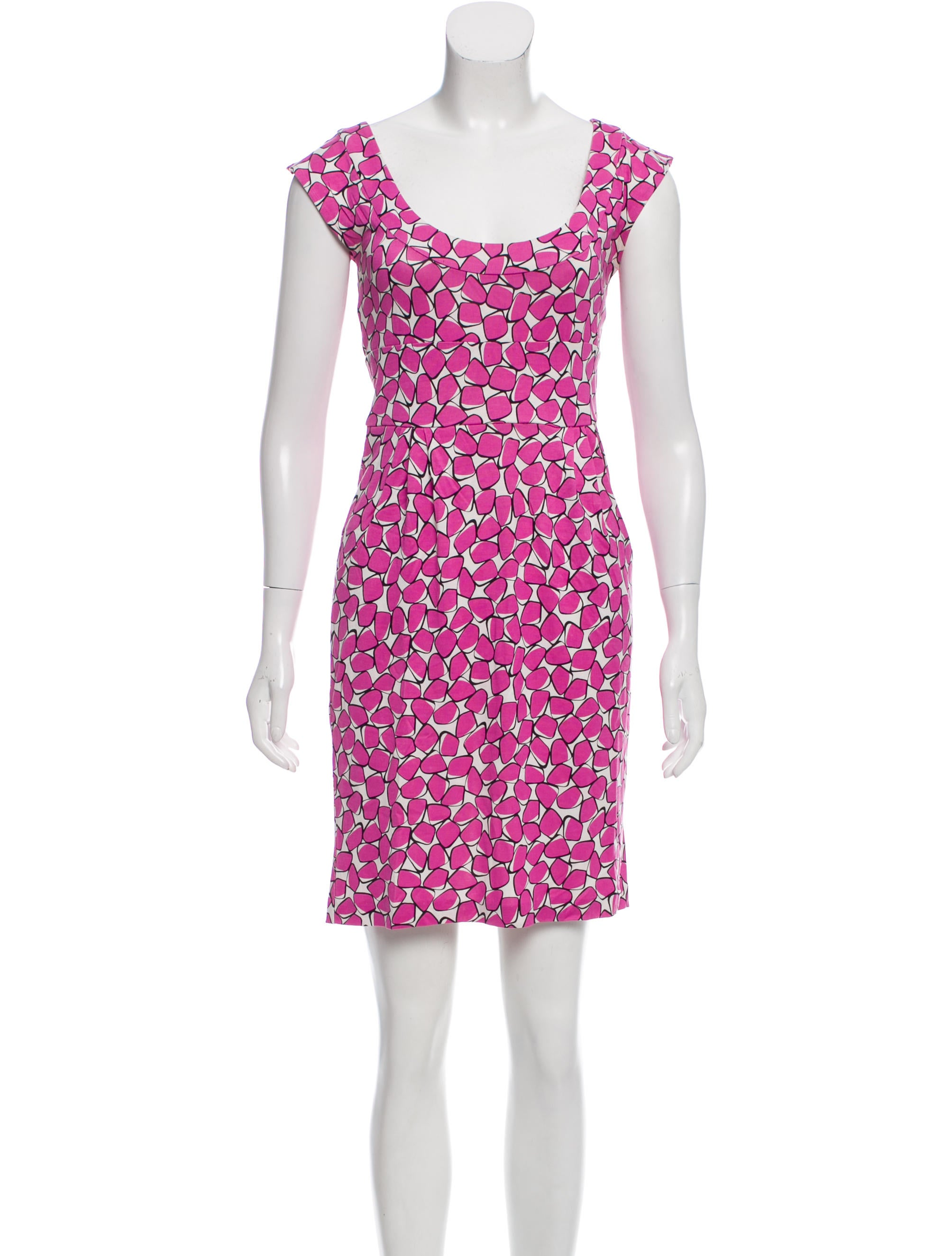 Diane von furstenberg taran silk dress clothing for Diane von furstenberg clothing