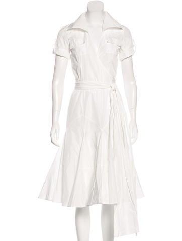 Diane von Furstenberg Taffy Ruffle Dress None