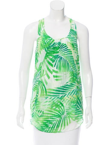 Diane von Furstenberg Midia Sleeveless Top None