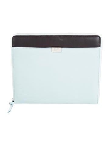 Diane von Furstenberg Logo-Embellished iPad Case None