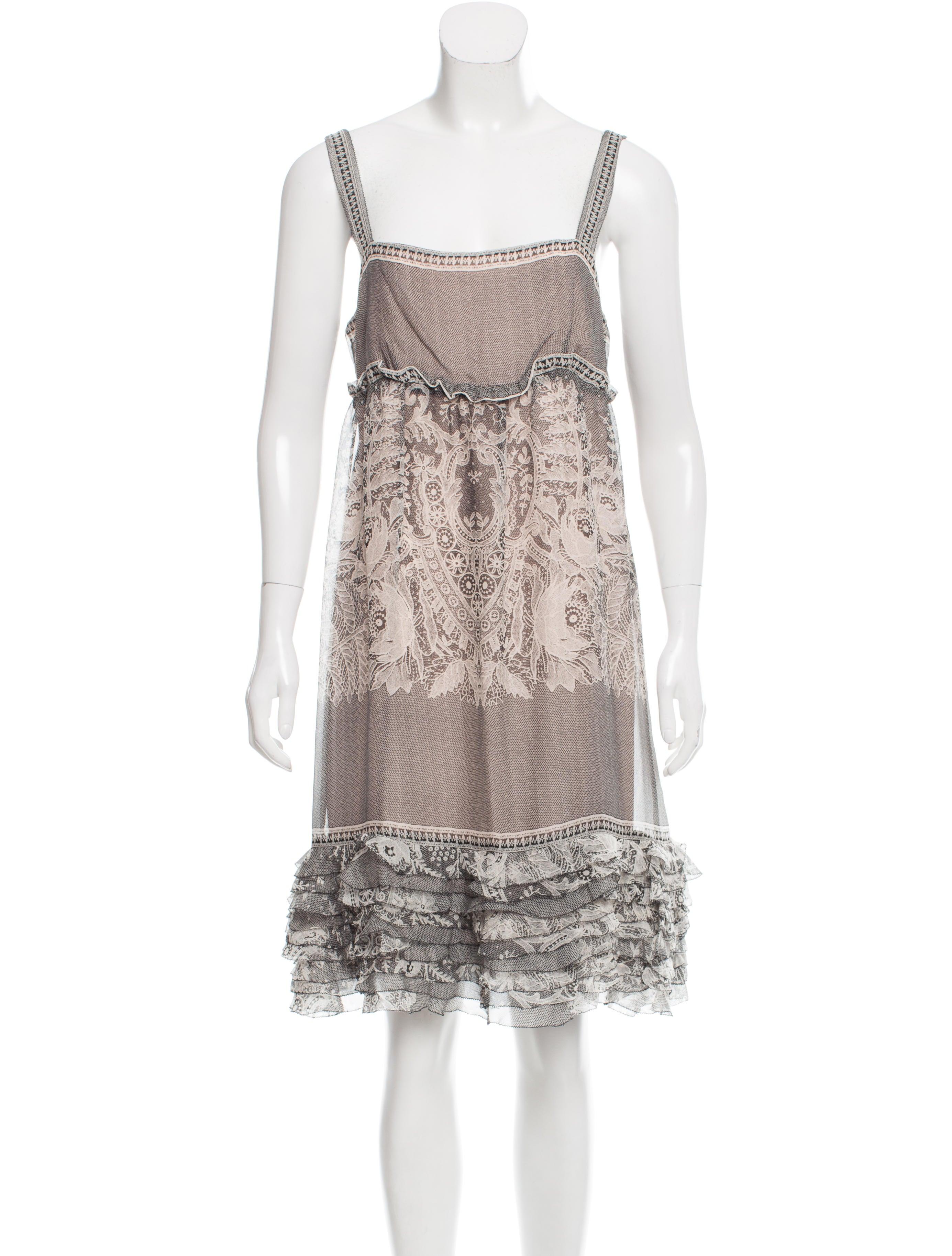 Diane von furstenberg oleada silk dress clothing for Diane von furstenberg clothing
