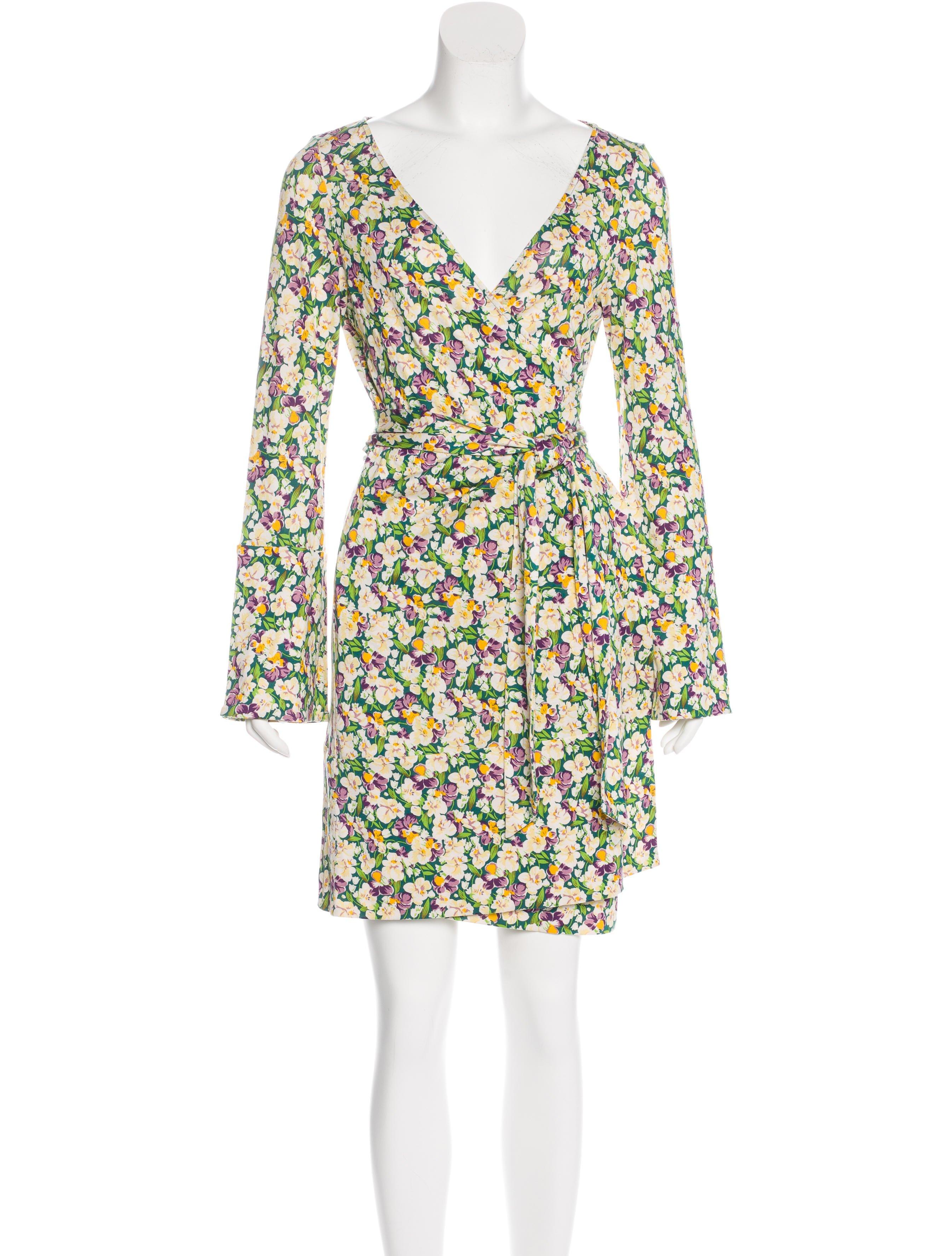 Diane von furstenberg greer silk dress clothing for Diane von furstenberg shirt