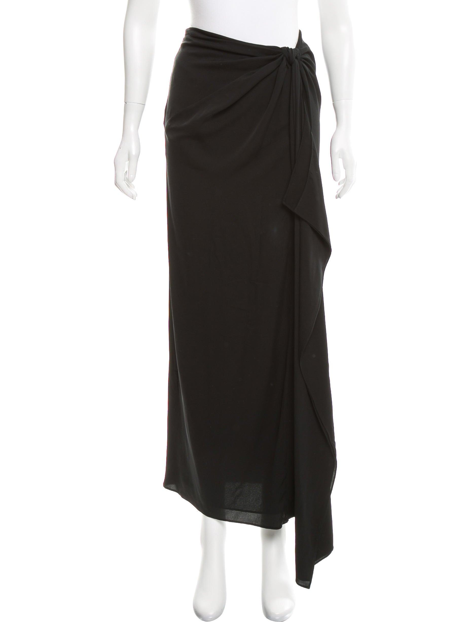 diane furstenberg silk midi skirt clothing