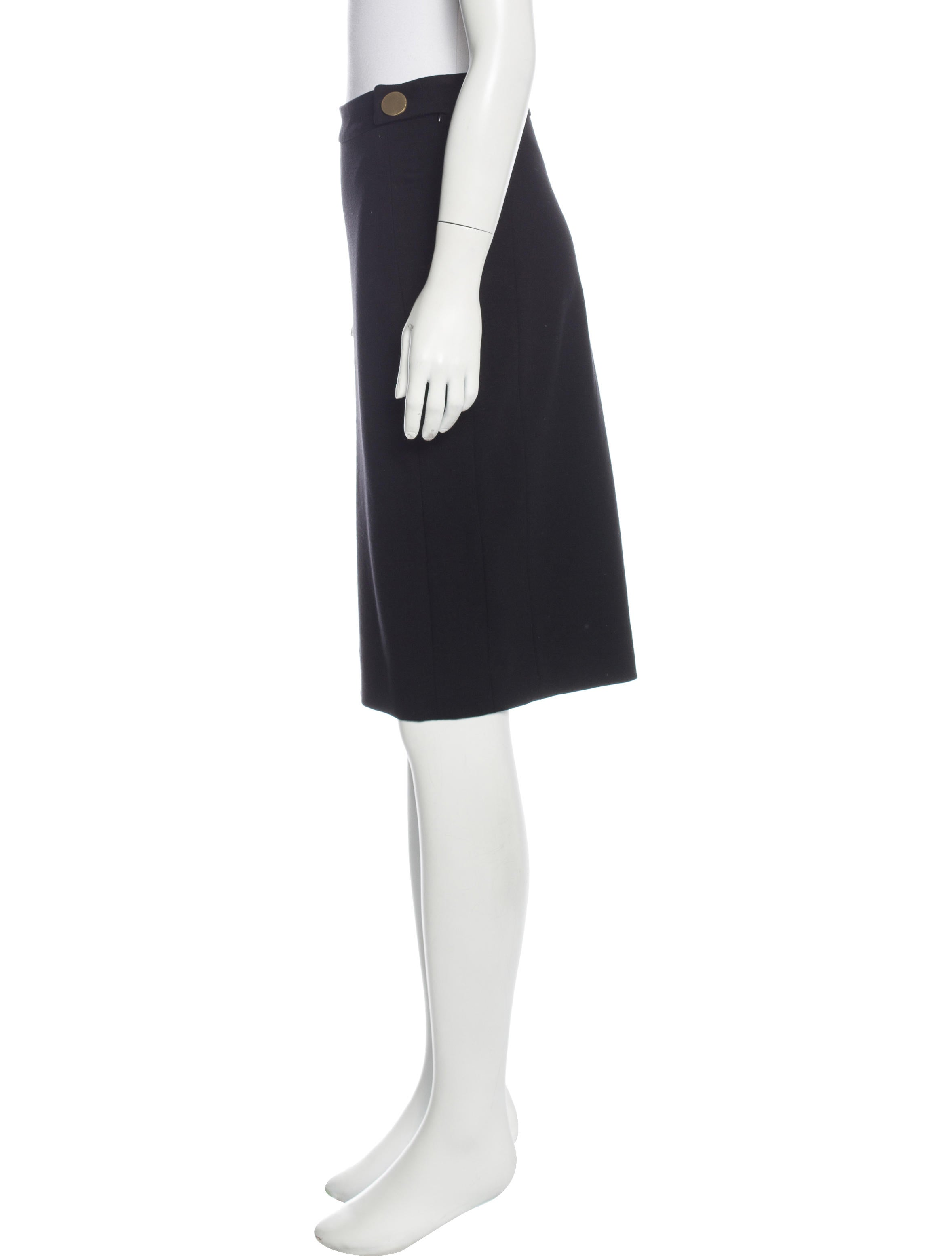 diane furstenberg jersey knee length skirt clothing