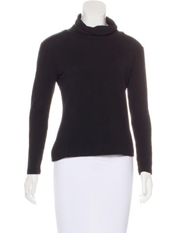 Diane von Furstenberg Wool Turtleneck Top None