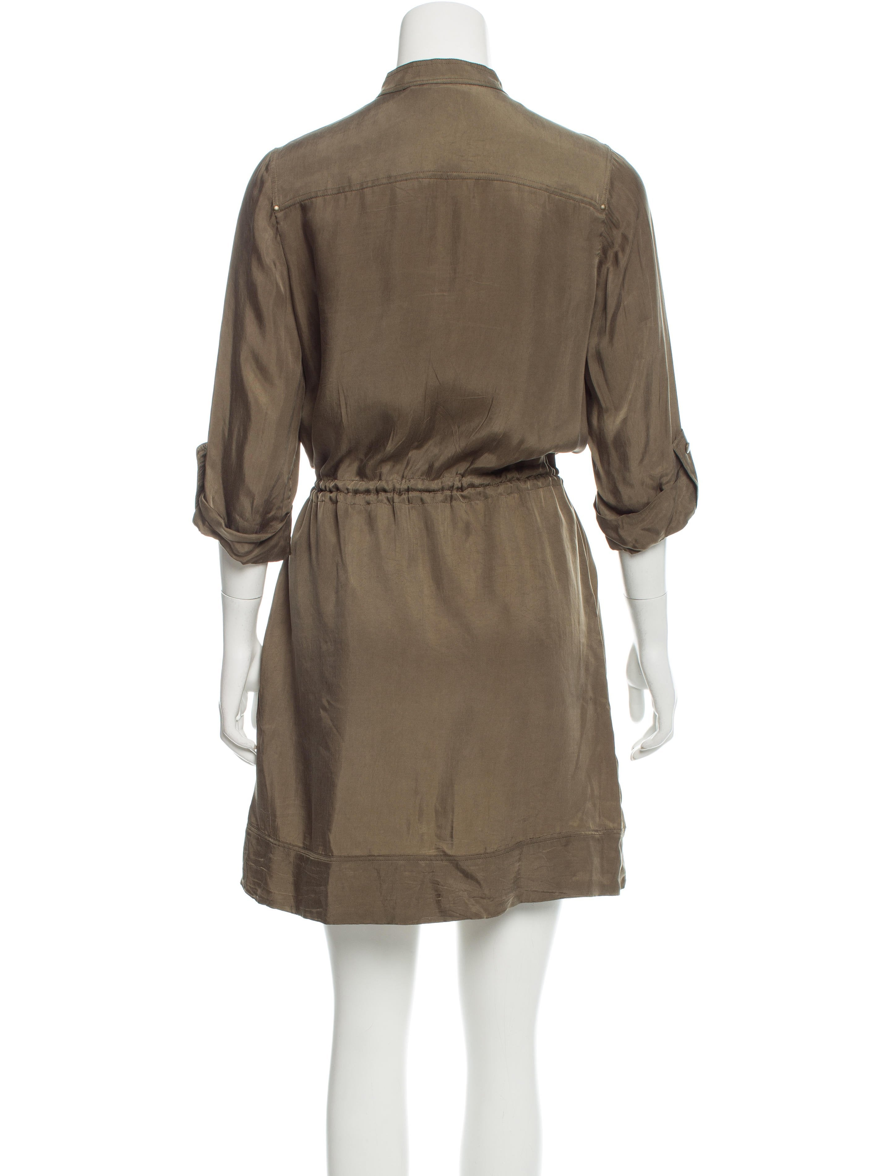 Diane von furstenberg anina shirt dress clothing for Diane von furstenberg shirt